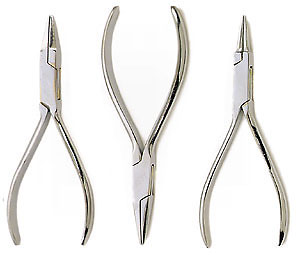 Hobby Pliers - Chrome Plated